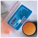 CDC 10 peří - fluo oranžová