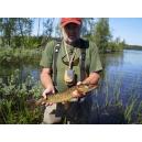 Švédsko - oblast řeky Kalix